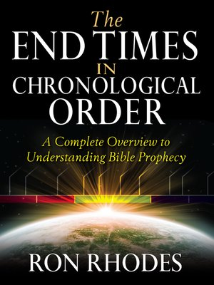 cover image of The End Times in Chronological Order