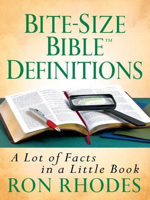 cover image of Bite-Size Bible™ Definitions