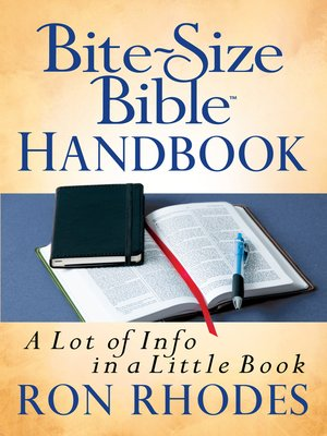 cover image of Bite-Size Bible™ Handbook