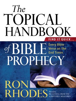 cover image of The Topical Handbook of Bible Prophecy