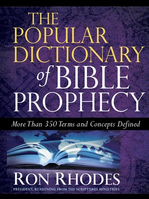 cover image of The Popular Dictionary of Bible Prophecy