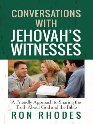 cover image of Conversations with Jehovah's Witnesses