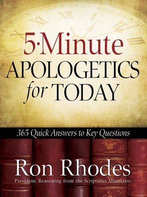 cover image of 5-Minute Apologetics for Today