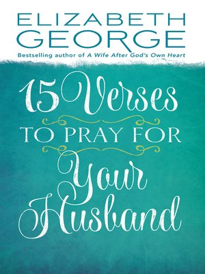 cover image of 15 Verses to Pray for Your Husband