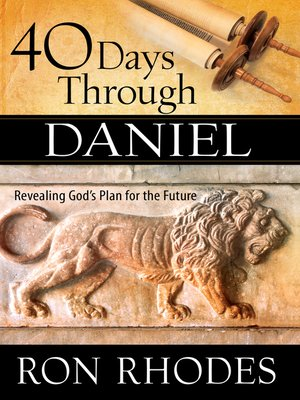 cover image of 40 Days Through Daniel