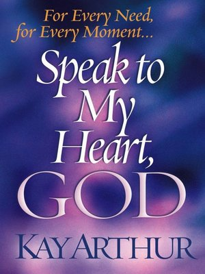 cover image of Speak to My Heart, God