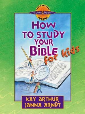 cover image of How to Study Your Bible for Kids