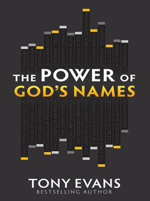 cover image of The Power of God's Names