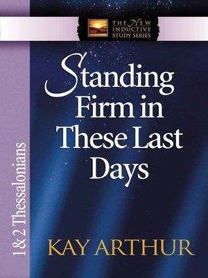 cover image of Standing Firm in These Last Days