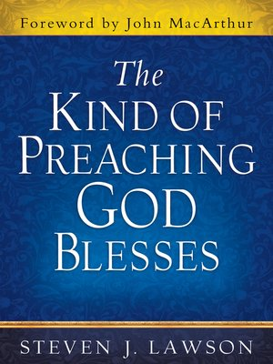 cover image of The Kind of Preaching God Blesses