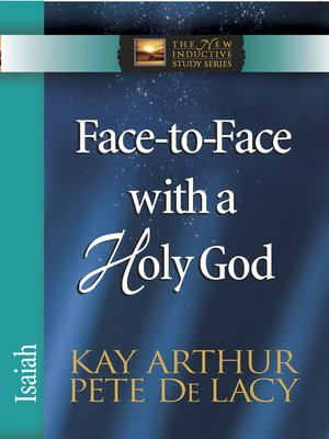 cover image of Face-to-Face with a Holy God