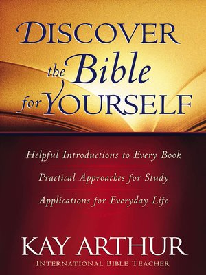 cover image of Discover the Bible for Yourself