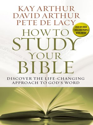 cover image of How to Study Your Bible