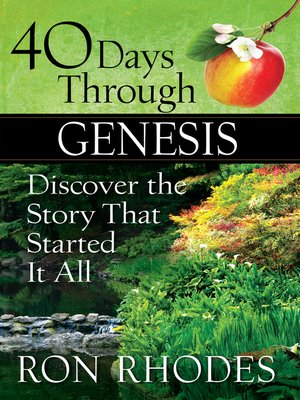cover image of 40 Days Through Genesis