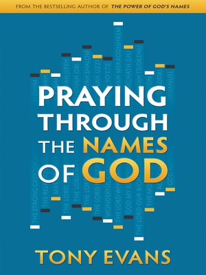 cover image of Praying Through the Names of God