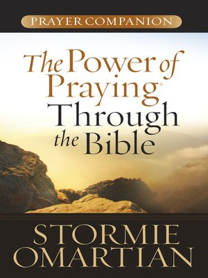 cover image of The Power of Praying® Through the Bible Prayer Companion
