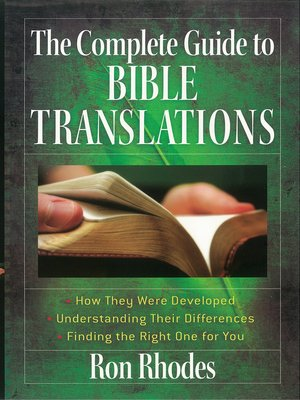 cover image of The Complete Guide to Bible Translations