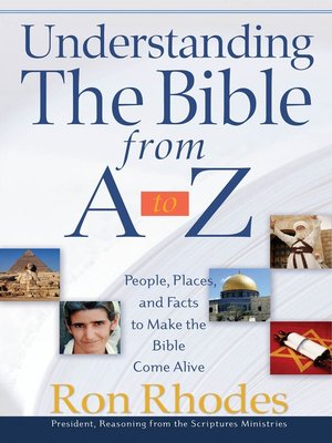 cover image of Understanding the Bible from A to Z