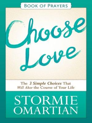 cover image of Choose Love Book of Prayers