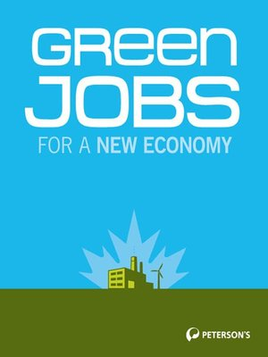 cover image of Green Jobs for a New Economy