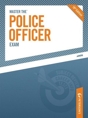 cover image of Master the Police Officer Exam