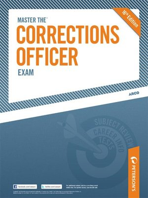 cover image of Master the Corrections Officer Exam