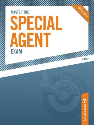 cover image of Master the Special Agent Exam