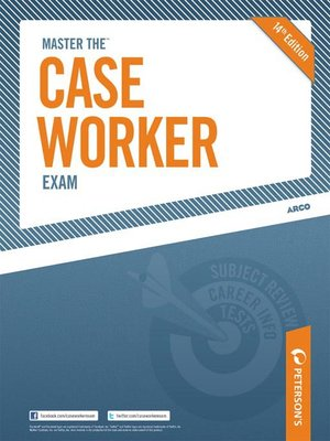 cover image of Master the Case Worker Exam
