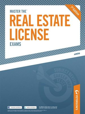 cover image of Master the Real Estate License Exams