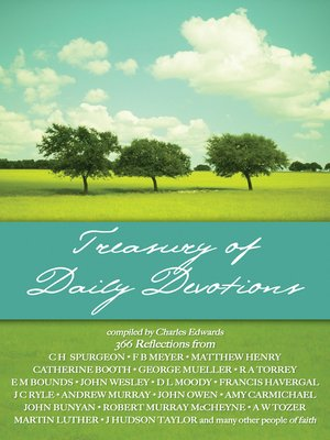 cover image of Treasury of Daily Devotions