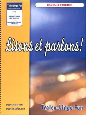 cover image of Lisons et parlons!
