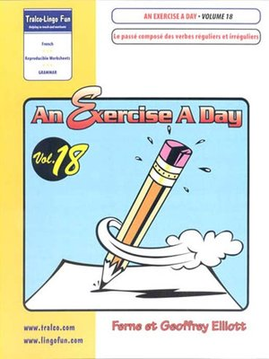 cover image of Verbs réguliers et iréguliers au passé composé