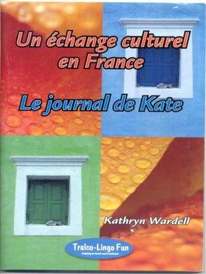 cover image of Le Journal de Kate