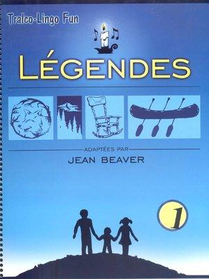 cover image of Légendes du Québec, Volume 1