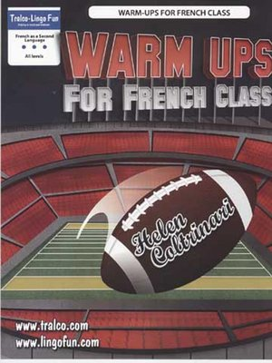 cover image of Warm Ups for French Class