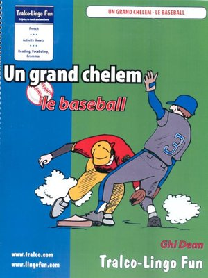cover image of Un grand chelem- le baseball