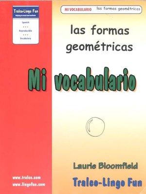 cover image of Las formas geométricas
