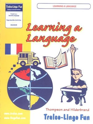 cover image of Learning a Language French