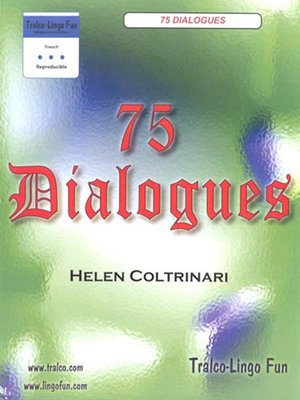 cover image of 75 Dialogues