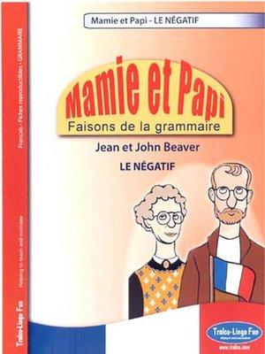 cover image of Le Négatif