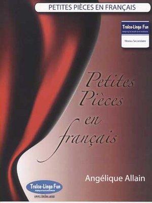 cover image of Petites Pièces en français