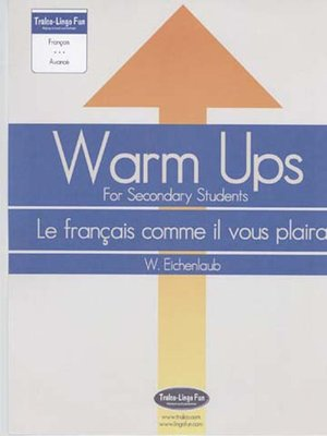 cover image of Warm-Ups for Secondary Students