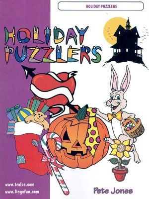 cover image of Holiday Puzzlers