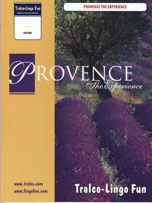cover image of Provence the Experience