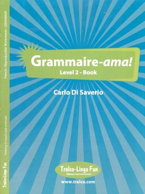 cover image of Grammaire-ama! Level 2