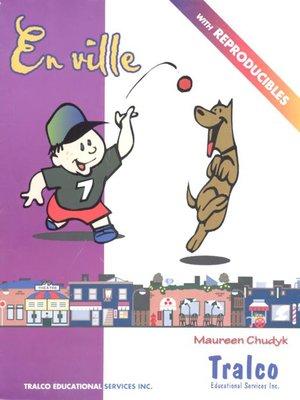 cover image of En ville