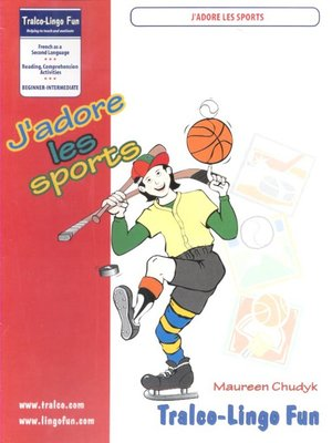 cover image of J'adore les sports