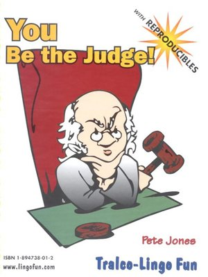 cover image of You Be the Judge!