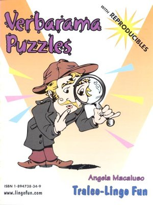 cover image of Verbarama puzzles