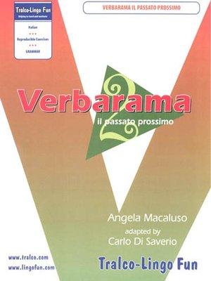 cover image of Verbarama il passato prossimo
